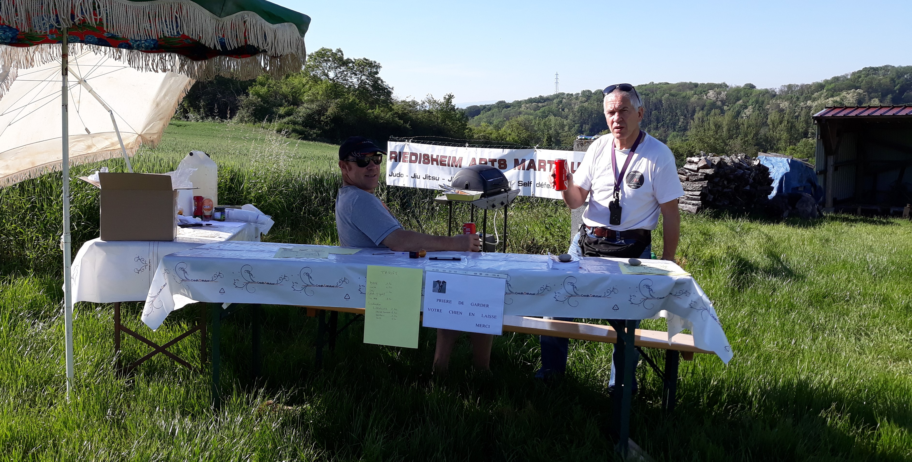 Riedisheim Arts Martiaux à la Marche de la Biche
